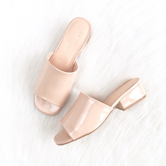 1217254306658 Coconuts by Matisse Shoes | Nude Plantain Patent Mules | Poshmark